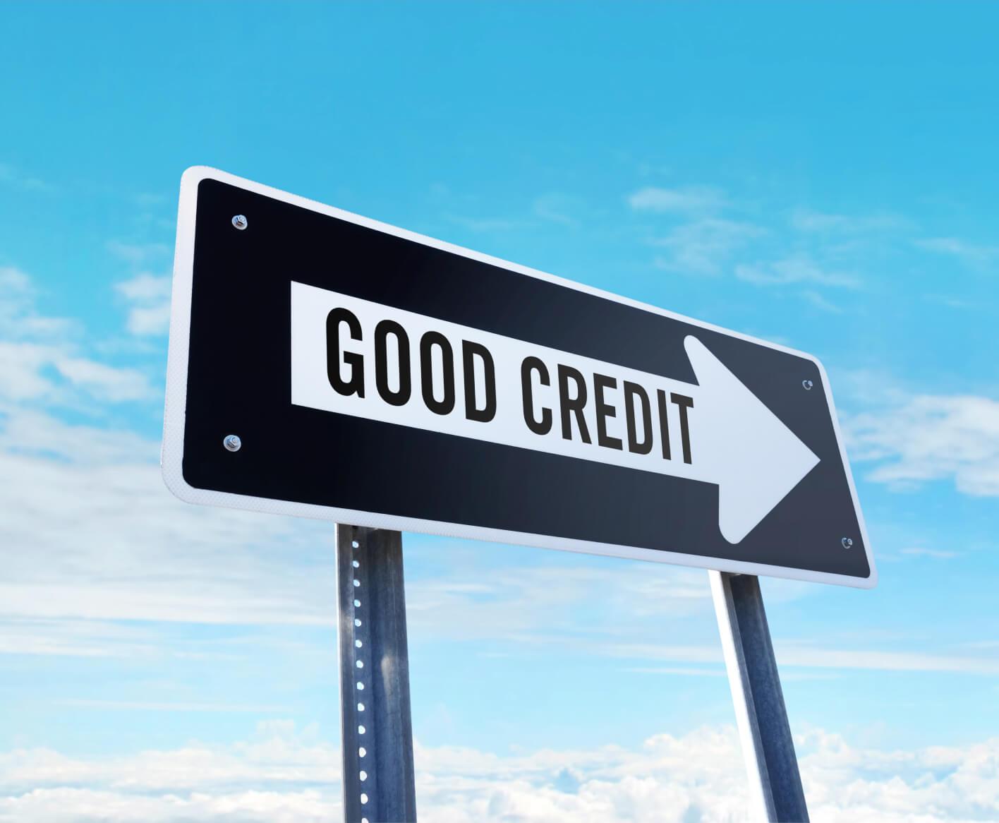 good-credit-sign